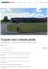 Trussel mot svensk skole