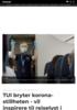 TUI bryter korona-stillheten - vil inspirere til reiselyst i ny kampanje