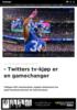 - Twitters tv-kjøp er en gamechanger