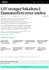 UiT stenger lokalene i Hammerfest etter smitte