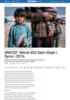 UNICEF: Minst 652 barn drept i Syria i 2016