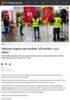 Vekterne trapper opp streiken: Nå streiker 2.373 vekter