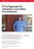 Vil ha faggruppe for sykepleiere som jobber med palliasjon