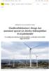 Vindkraftdebatten i Norge har nærmest sporet av. Derfor faktasjekker vi ni påstander