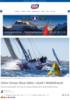 Volvo Ocean Race båter i duell i Middelhavet