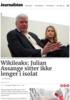Wikileaks: Julian Assange sitter ikke lenger i isolat