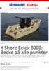 X Shore Eelex 8000: Bedre på alle punkter
